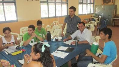 Taller de capacitación CERES (Centros de estudiante de Pto Iguazú)