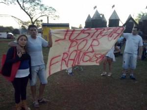 Foto de la marcha - PEDIDO DE JUSTICIA- 21-08-2015