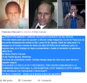 Texto Francisco Vacari